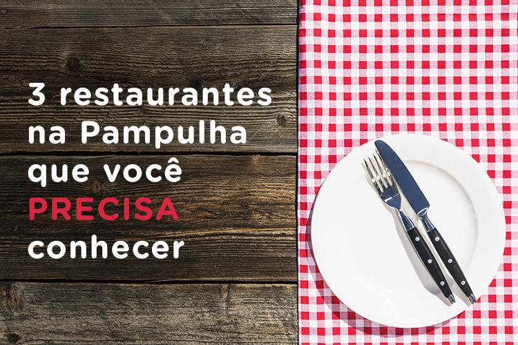 3 restaurantes na Pampulha que você PRECISA conhecer